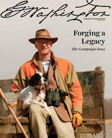 Washington College Magazine, Forging a Legacy by Washington