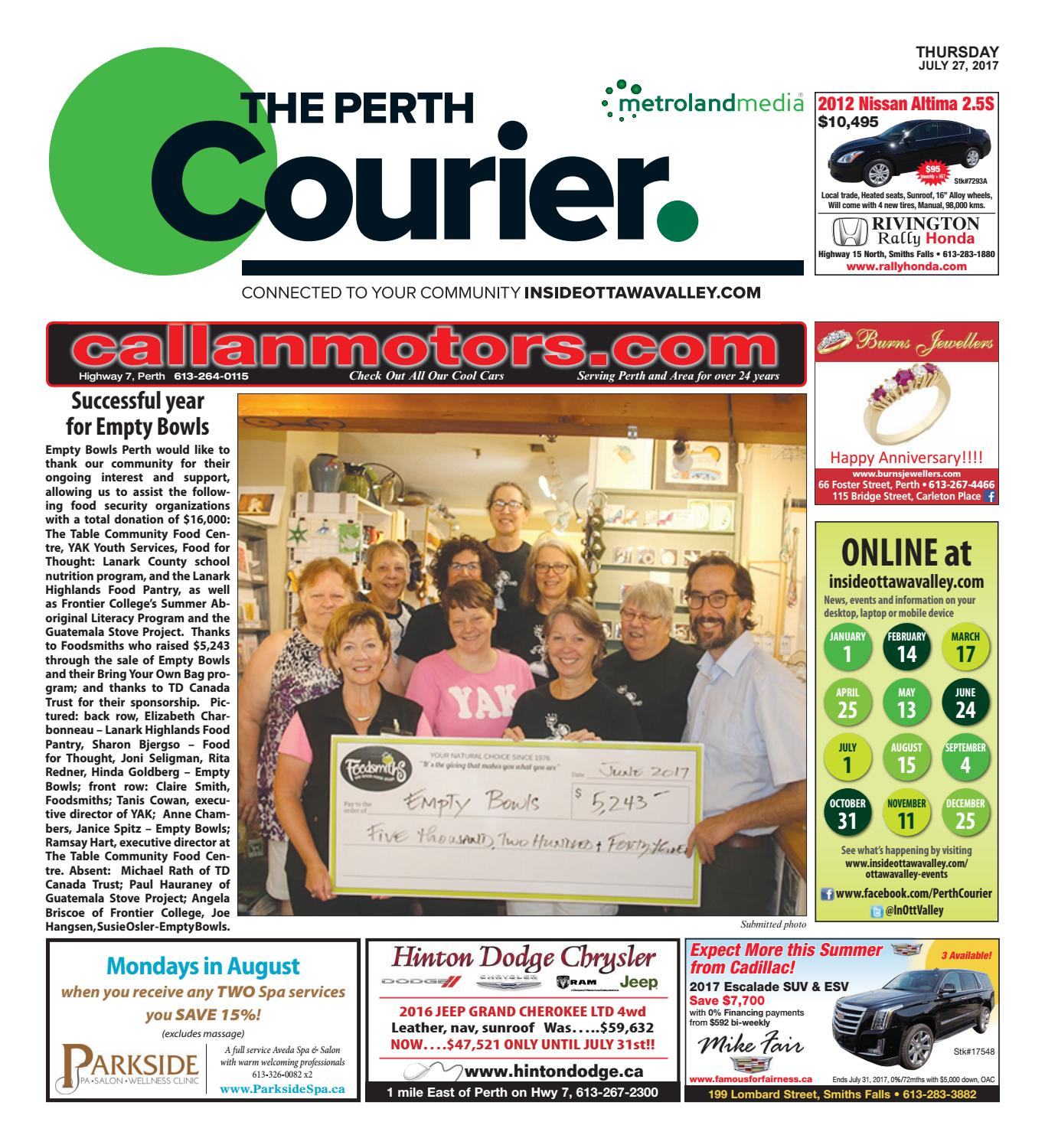 perth072717 by metroland east the perth courier issuu