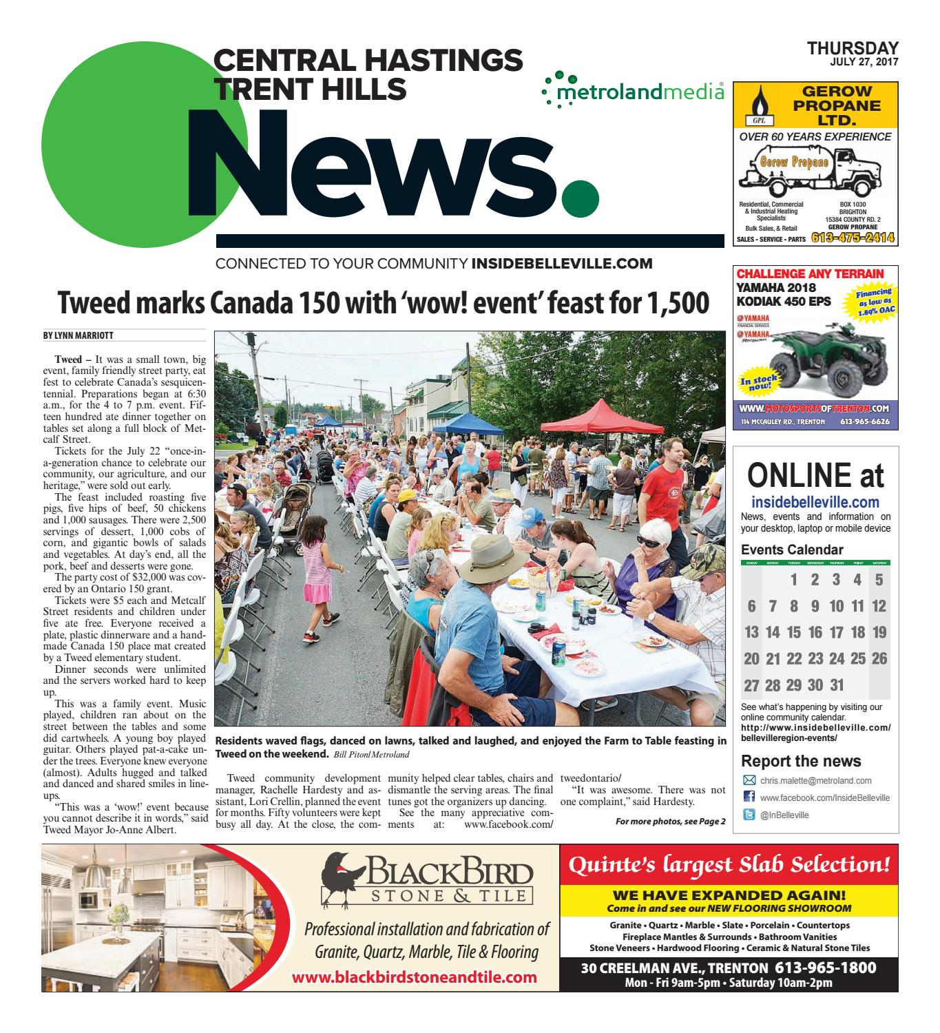 Chth072717 By Metroland East Central Hastings News Issuu