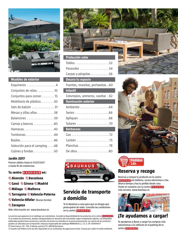 Jard n 2017 by bauhaus issuu for Bauhaus tarragona catalogo