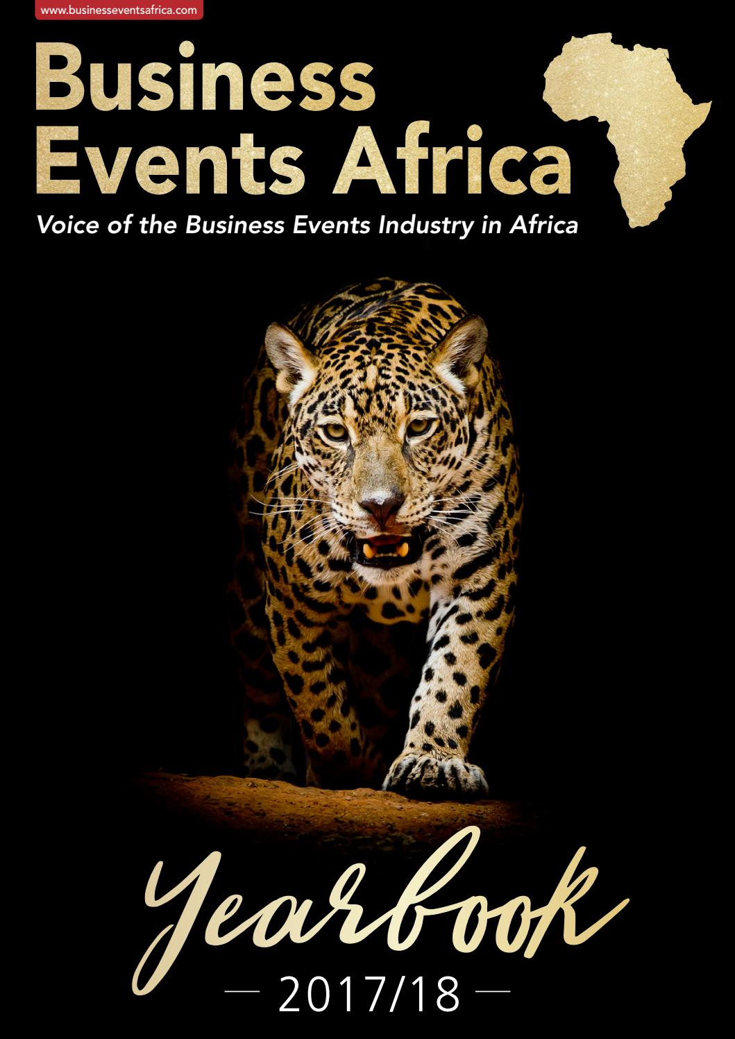 93361d6d Business Events Africa Yearbook 2017 by Contact Publications - issuu