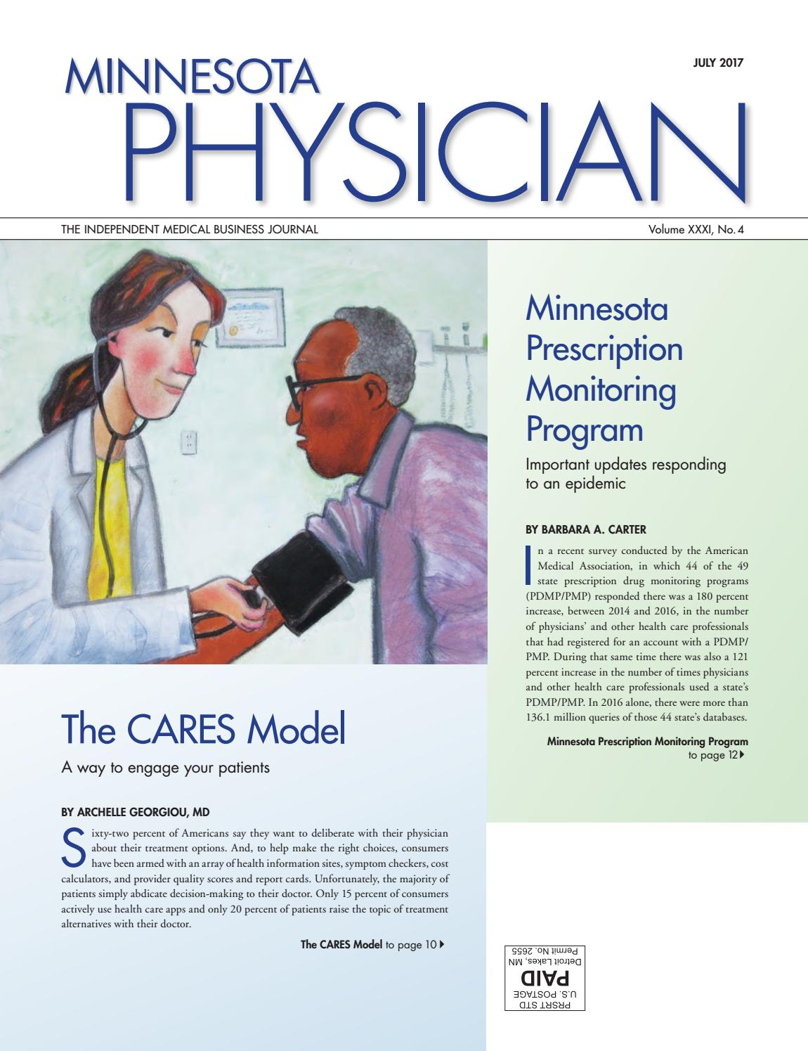 MN Physician July 2017 by Minnesota Physician Publishing - issuu