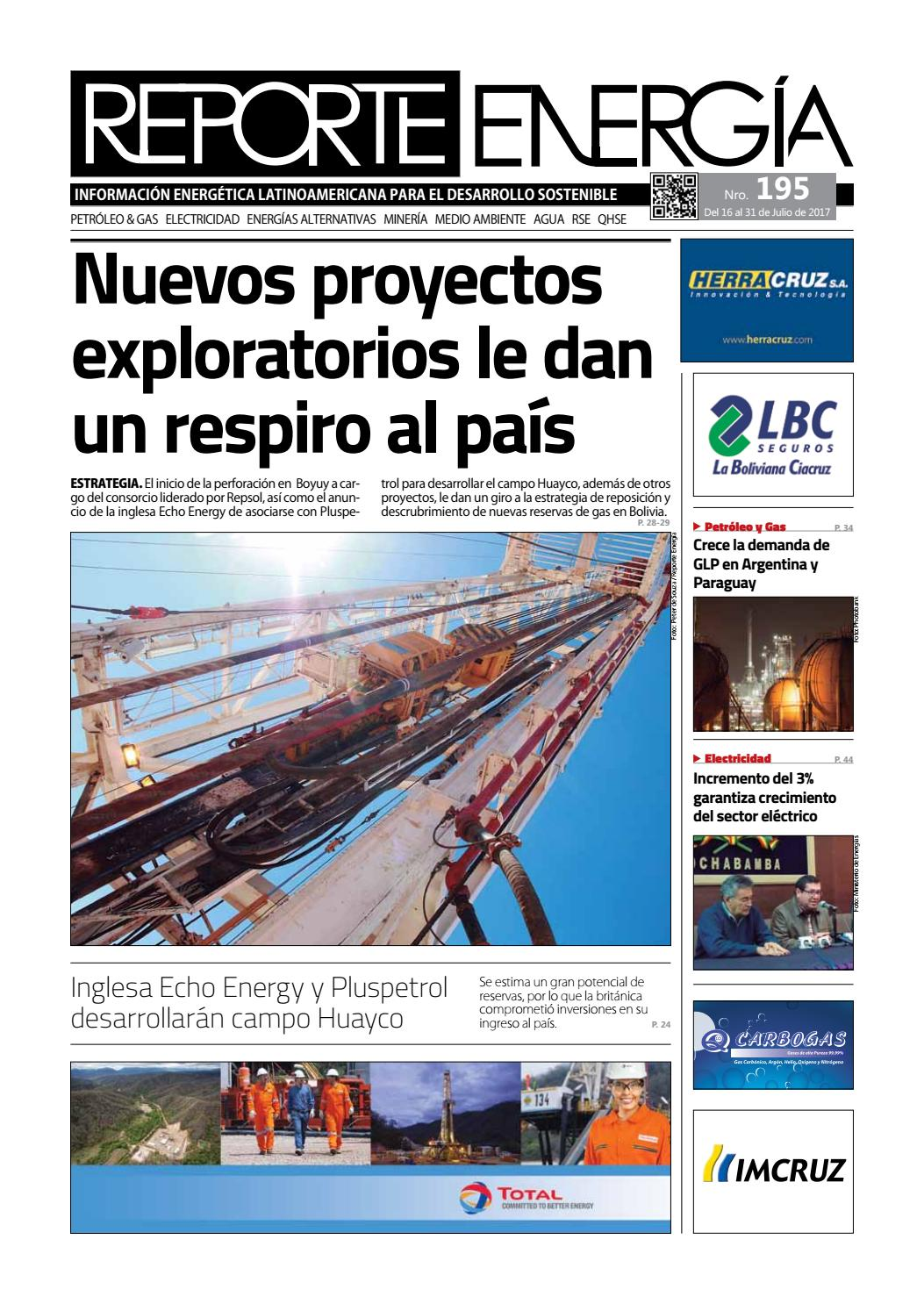 Reporte Energía - Edición 195 by Branko Zabala - issuu