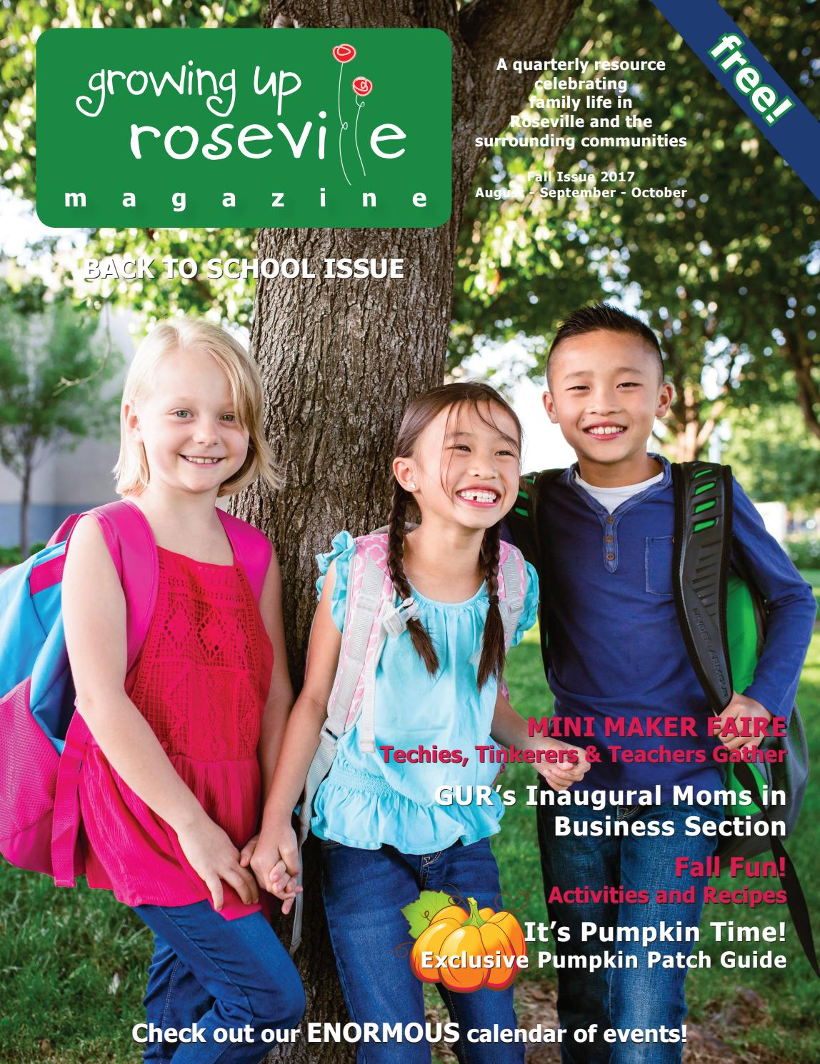 Fountains Roseville Events 2020.Growing Up Roseville Fall 2017 By Growing Up Roseville Issuu