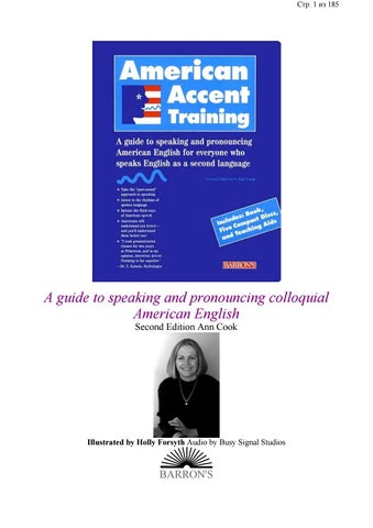 American accent training by ElBoyHD - issuu