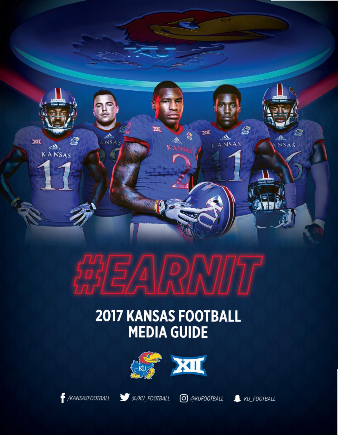 2017 Kansas Football Media Guide by Kansas Athletics - issuu 6939a3e09