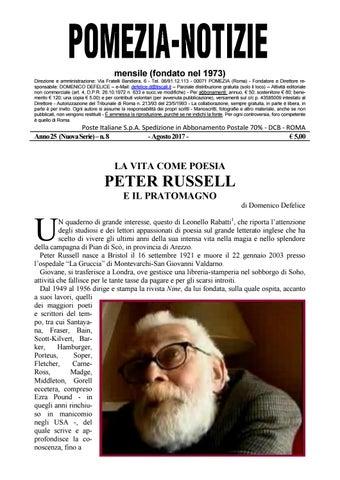 4d7298ca21 Pomezia Notizie 2017_8 by Domenico - issuu