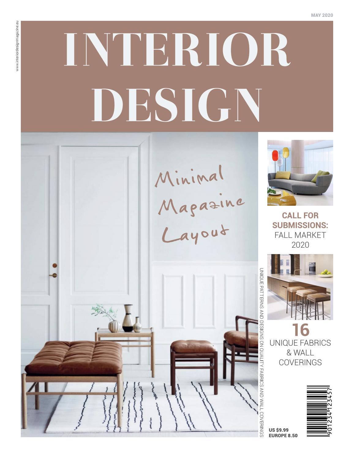 Interior design magazine layout by refresh studio issuu for Interior design magazine