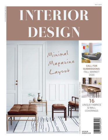 INTERIOR DESIGN Magazine Layout by Refresh | Studio - issuu