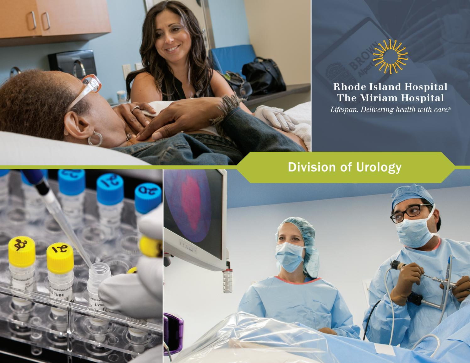 Lifespan Division of Urology at Rhode Island Hospital and