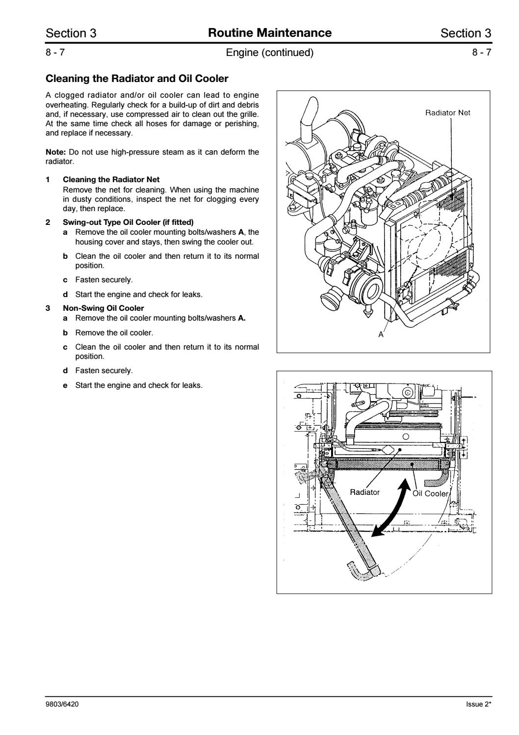 Jcb js330 tracked excavator service repair manual sn712501