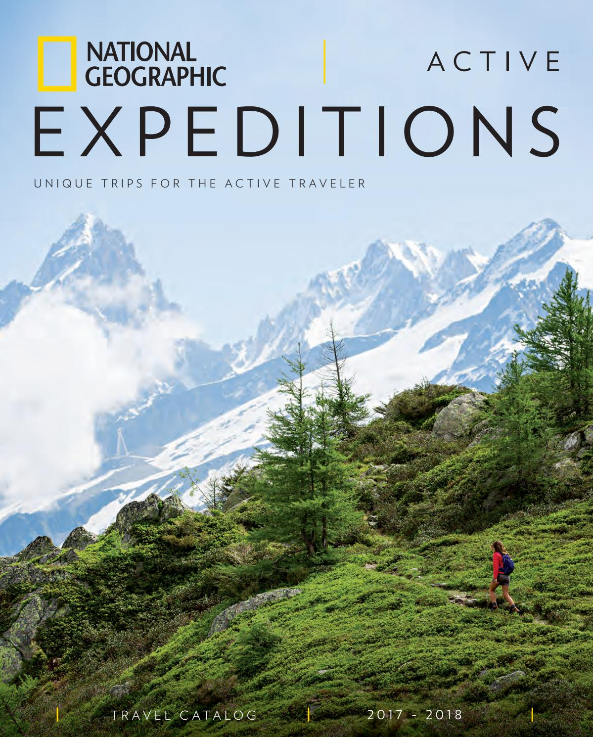 National Geographic Traveler Logo >> 2017-2018 National Geographic Active Expeditions Catalog by National Geographic Expeditions - Issuu