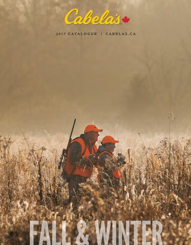 Cabela's Fall & Winter Catalogue by CabelasCanada - issuu