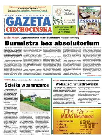 Gazeta Ciechocinska 77 2017 By Wydawnictwo Kujawy Issuu
