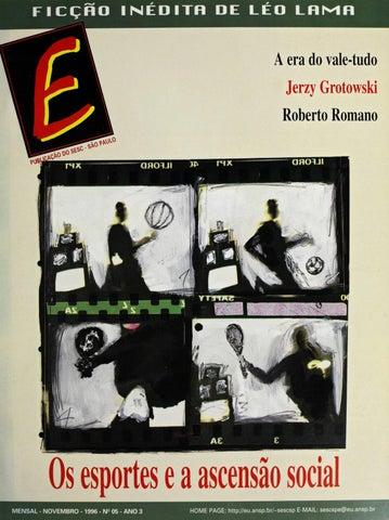 0edf628a975da Revista E - Novembro de 1996 - ANO 3 - Nº 5 by Sesc em São Paulo - issuu