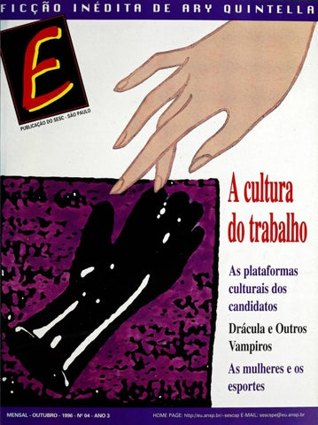 3a2053397 Revista E - Outubro de 1996 - ANO 3 - Nº 4 by Sesc em São Paulo - issuu
