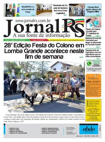 69b3e7276 Edição 195 Jornal RS - A Sua Fonte de Informação by Jornal RS A Sua ...