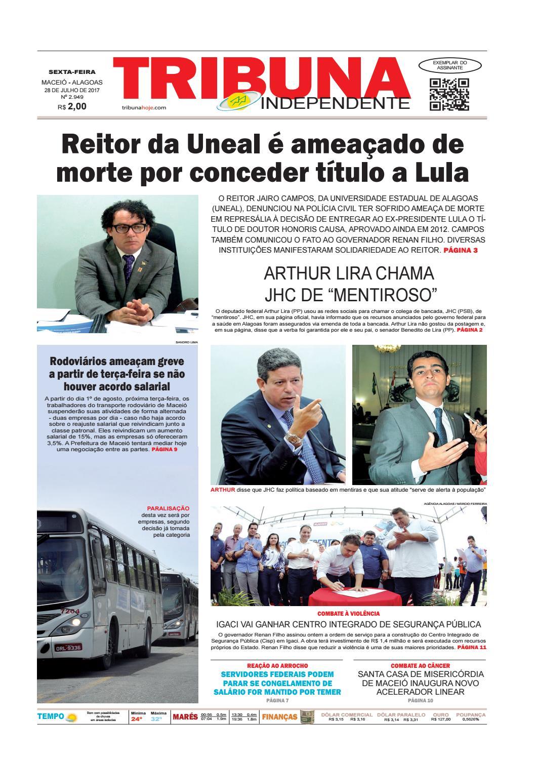 ae34613cd Edição número 2949 - 28 de julho de 2017 by Tribuna Hoje - issuu