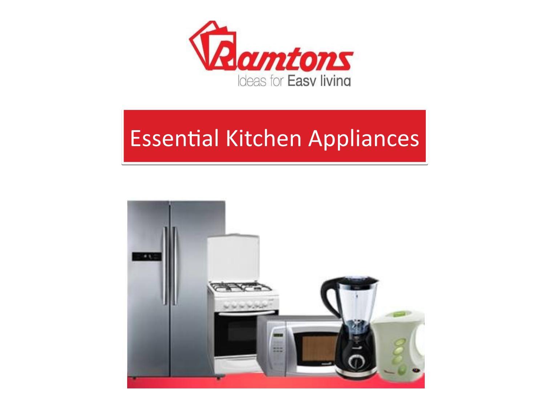 Ramtons - Essential Kitchen Appliances by Ramtons ( Hypermart LTD ...