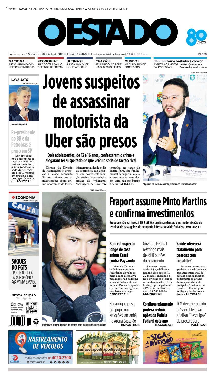 28 07 2017 -Edição 23077 by Jornal O Estado (Ceará) - issuu 77f8e3268873b