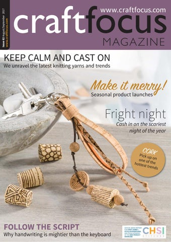 Craft Focus Issue 62 - Aug/Sep 2017
