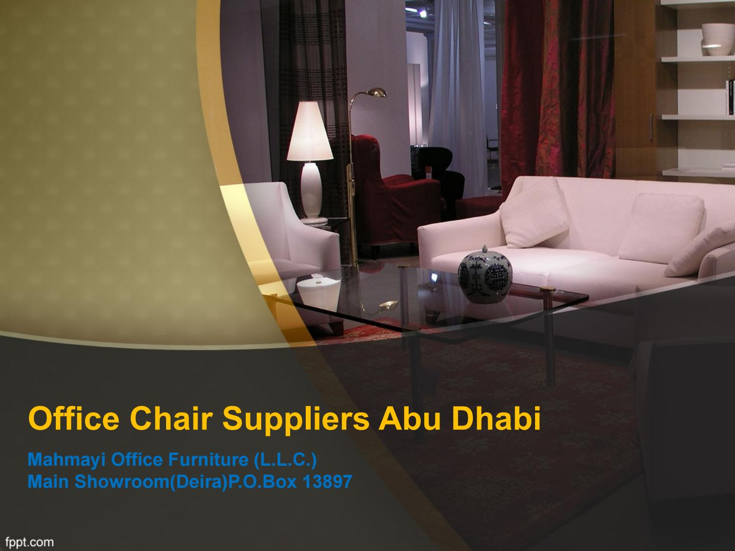 Best Office Chair Suppliers Abu Dhabi By Office Chair