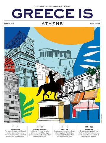 Greece Is Athens Summer 2017 By Greece Is Issuu