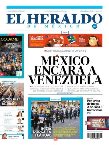 cf882b96be El Heraldo de México 28 de Julio de 2017 by El Heraldo de México - issuu
