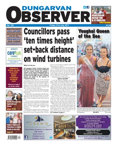 bfce254aa7 Dungarvan observer 21 7 2017 edition by Dungarvan Observer - issuu
