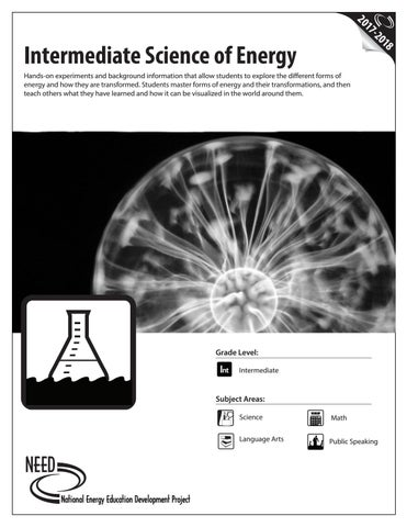 Intermediate Science Of Energy By Need Project Issuu