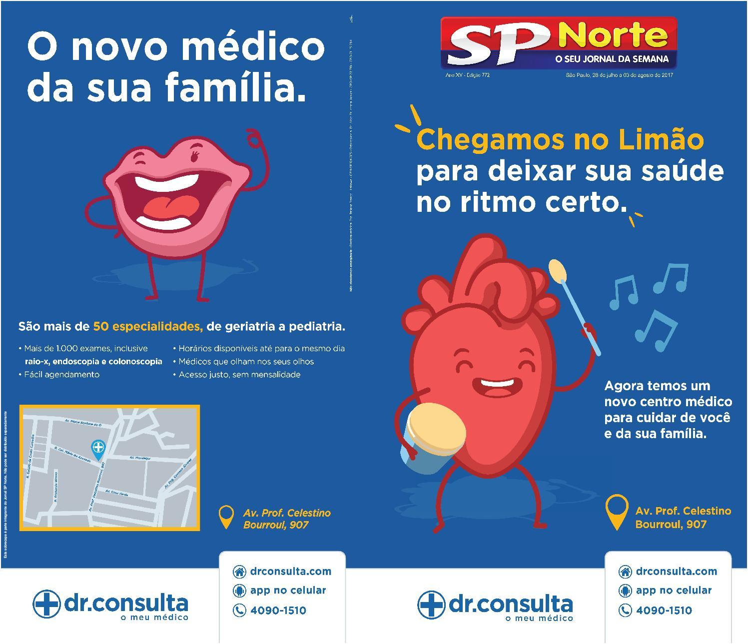 b11e1527fd6a7 Edição 772 - 28 de julho a 3 de agosto de 2017 by Jornal SP Norte - issuu