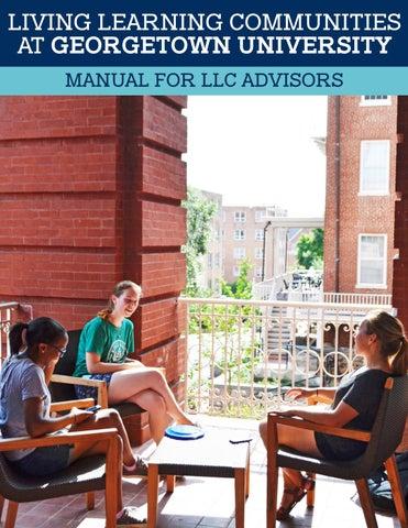 llc advisor manual 2017 by residential living georgetown university
