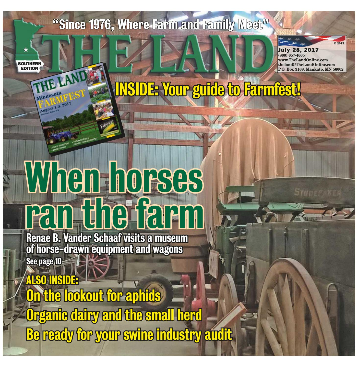 THE LAND ~ July 28, 2017 ~ Southern Edition by The Land - issuu
