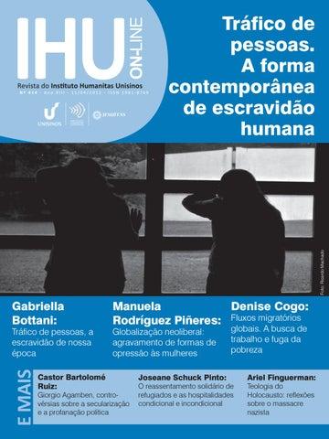 c34d83ac9efd6 Page 1. ON-LINE. IHU. Revista do Instituto Humanitas Unisinos