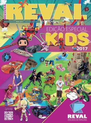2e7c076623 Revista Reval Kids 2017 - Parte 01 by Reval Atacado de Papelaria ...
