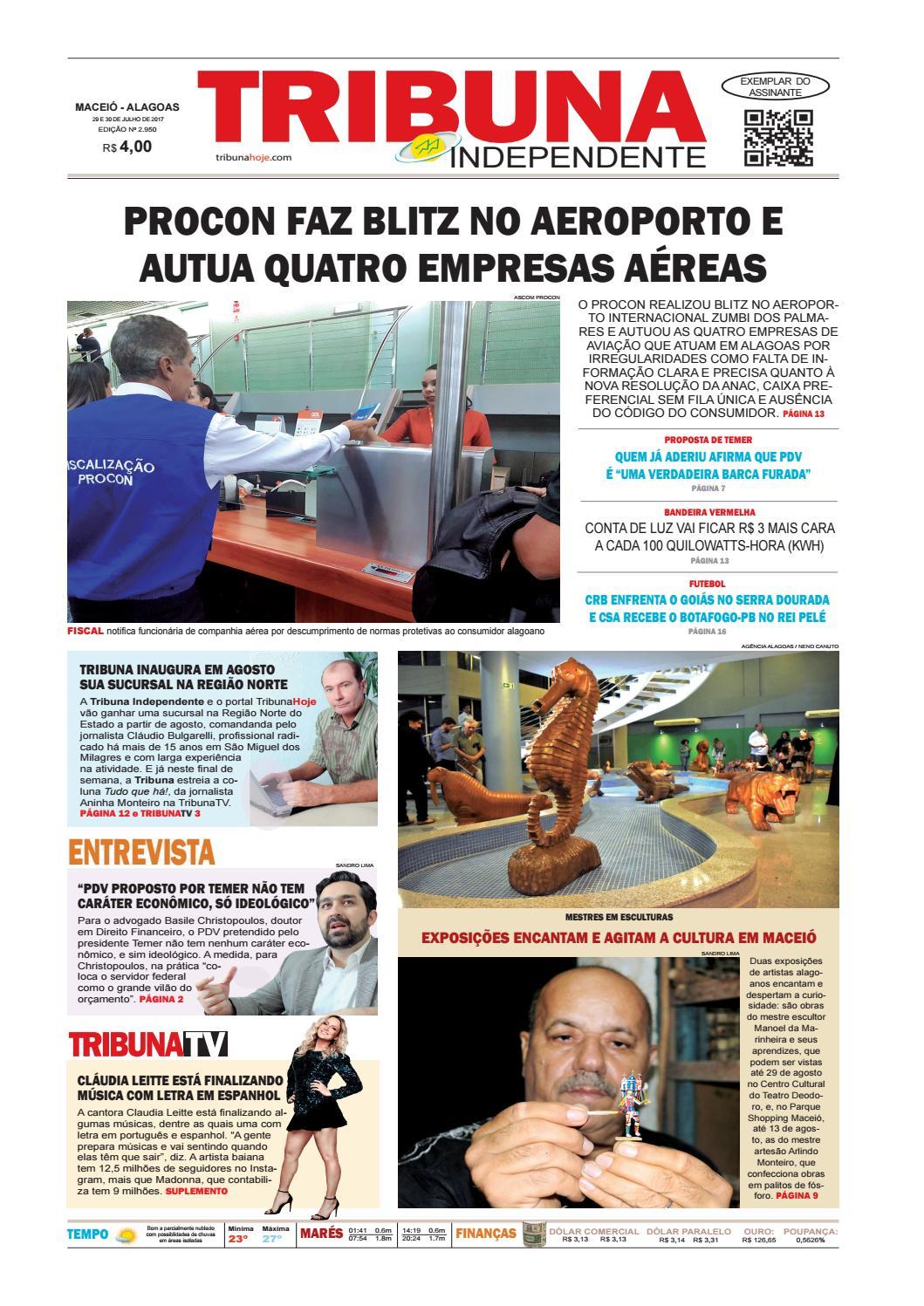 Edição número 2950 - 29 e 30 de julho de 2017 by Tribuna Hoje - issuu 49357c9010