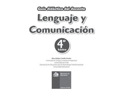 72c12399e 4° docente by María Paz Acevedo - issuu