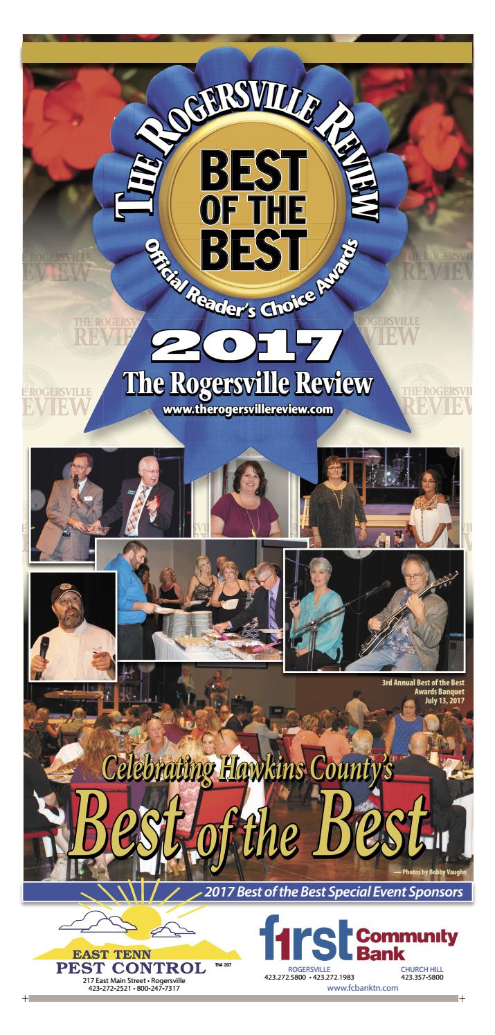 Best Of The Best 2017 By Discover Hawkins County Issuu