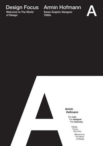 Armin Hofmann Graphic Design Manual Epub
