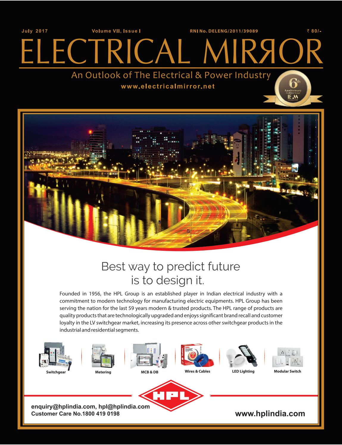 Electrical Mirror Magazine June 2017 By Icon Media Group Issuu Residential Wiring Book Anniversary July Issue