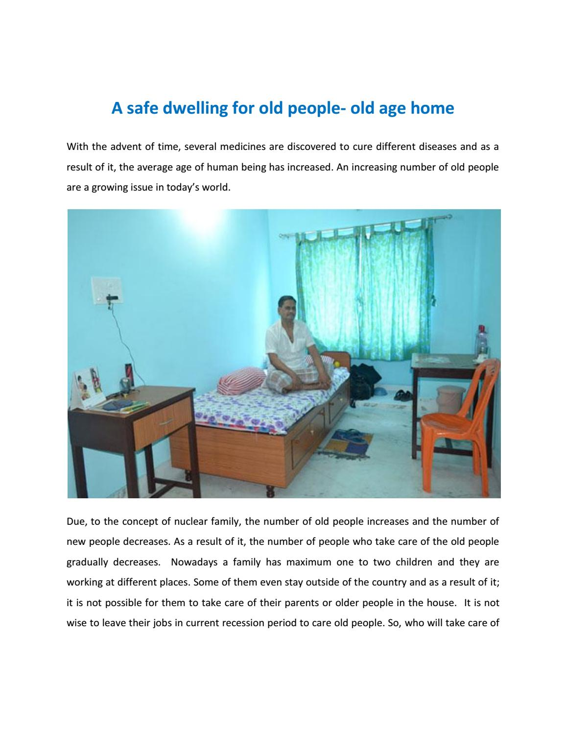 Lovely Old Age Home Design Concept Decor Design Ideas In