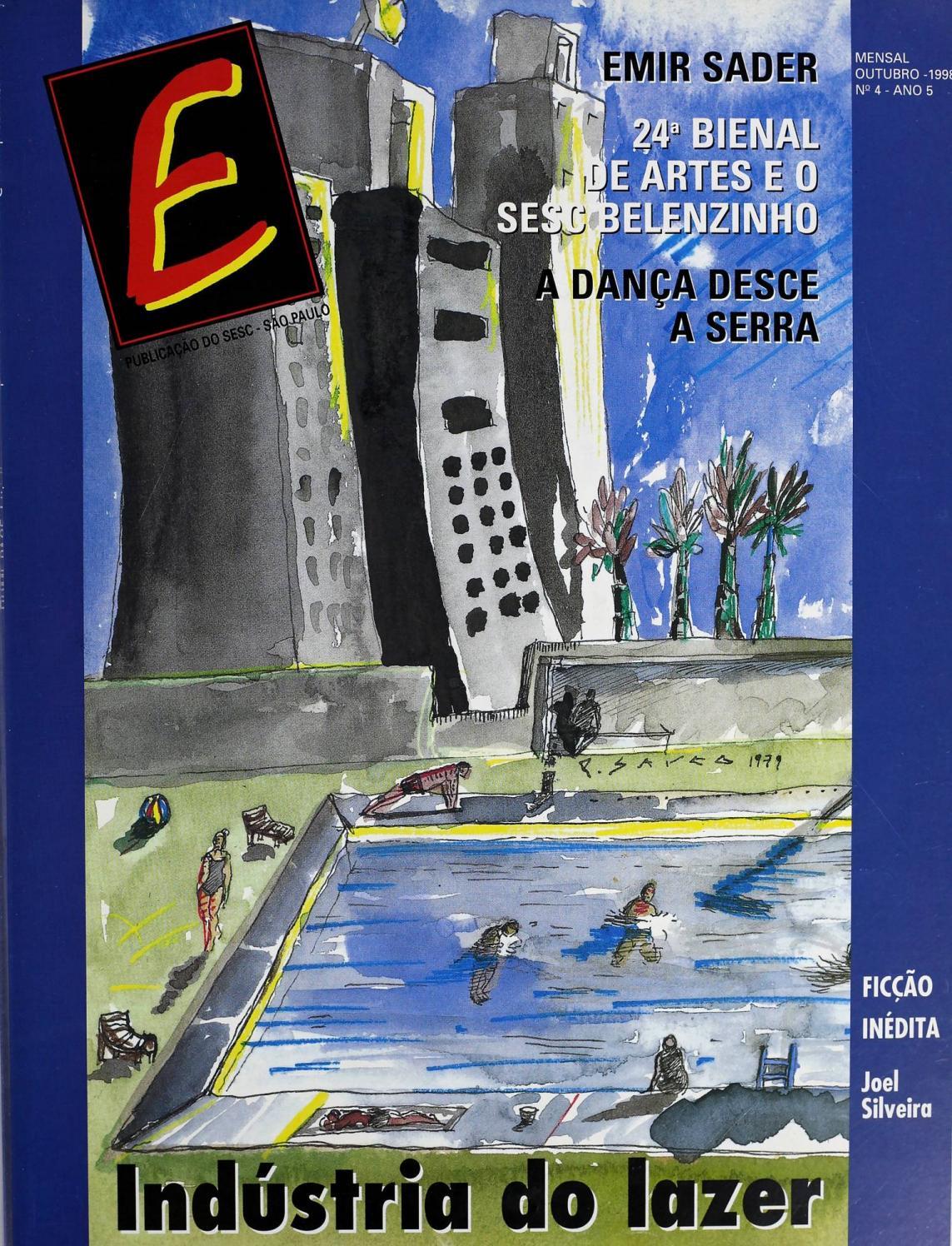 398b8bc348 Revista E - Outubro de 1998 - ANO 5 - Nº 4 by Sesc em São Paulo - issuu