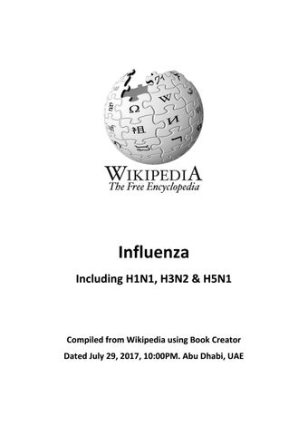 Influenza from wikipedia by Htin Kyaw - issuu