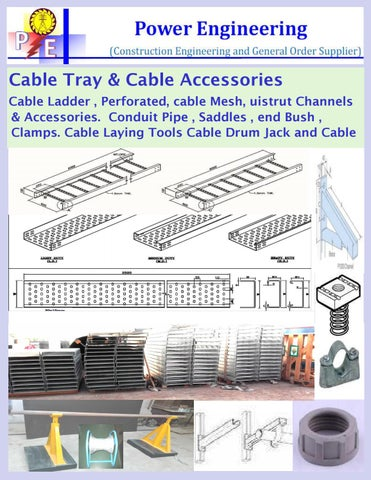 Cable Tray Conduit Catalogue By Ethan Harry Issuu