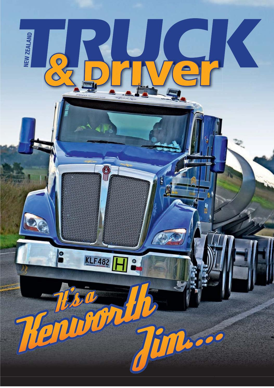 Truck and Driver T610 by PACCAR Australia - issuu