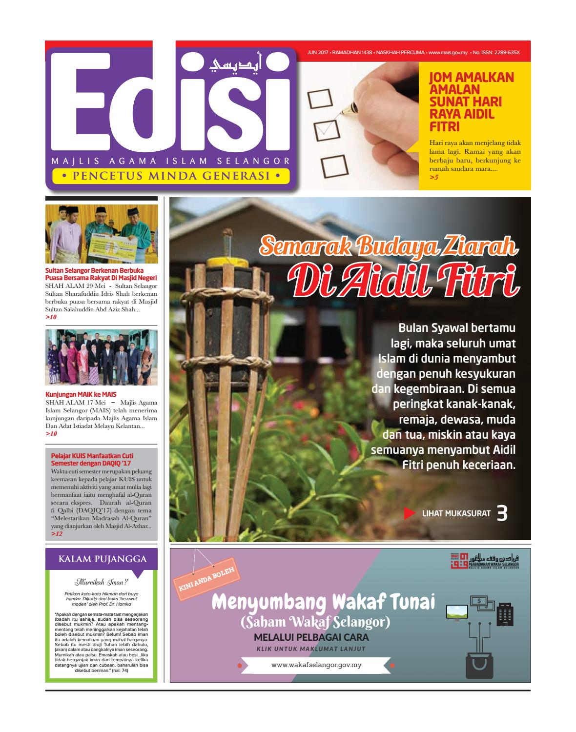 Edisi Bil 41 Jun17 By MAIS Issuu