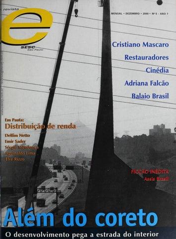 dcdf6149a1 Revista E - Dezembro de 2000 - ANO 7 - Nº 5 by Sesc em São Paulo - issuu