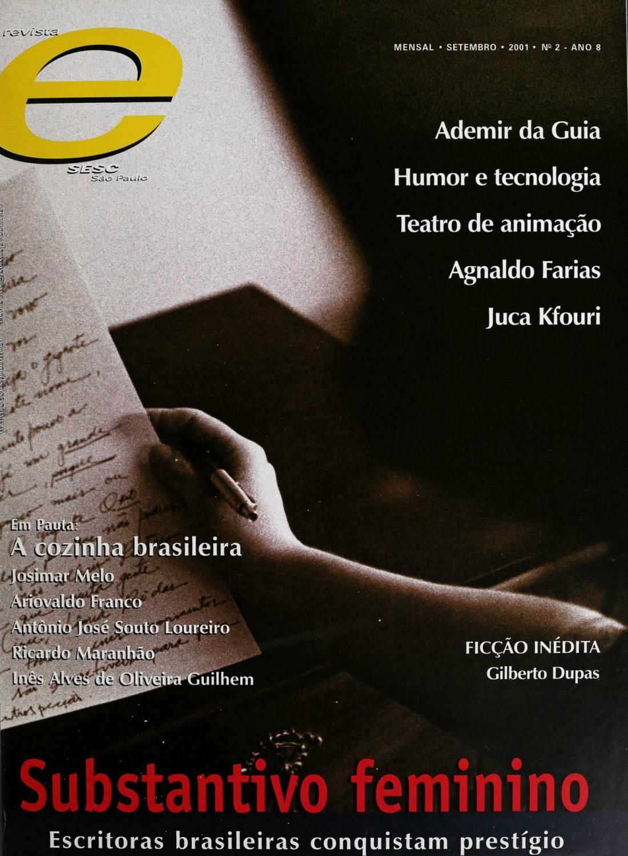 c6411ec945c Revista E - Setembro de 2001 - ANO 8 - Nº 2 by Sesc em São Paulo - issuu