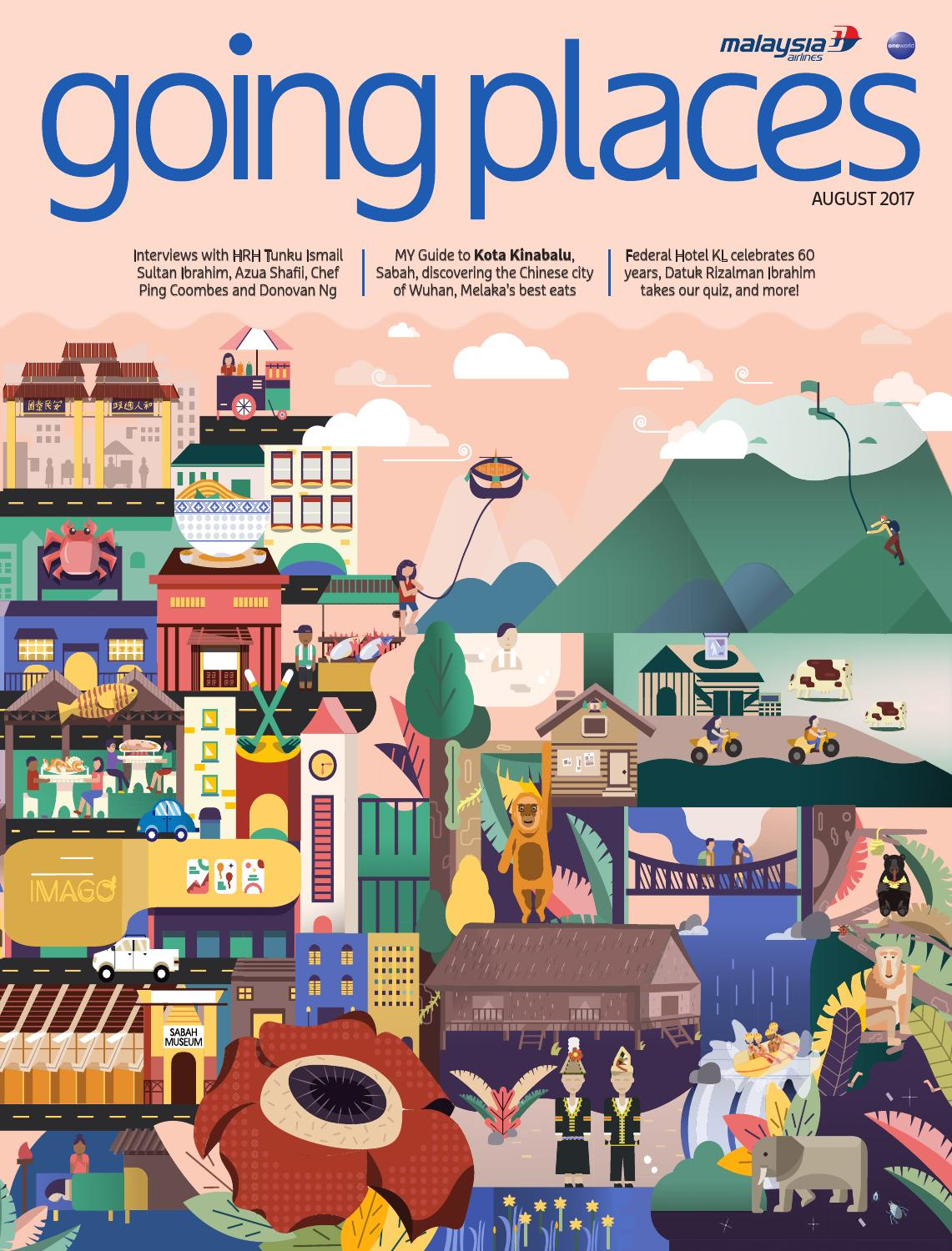 Going Places August 2017 By Spafax Malaysia Issuu