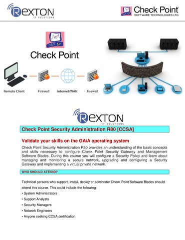 Best Checkpoint Training Institute in Noida- Rexton It Solution by